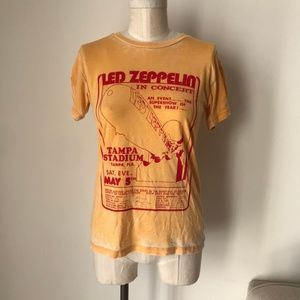 Daydreamer Led Zeppelin Tampa Stadium Yellow Top